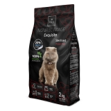 REX NATURAL Range Exquisite STERILIZED cat Fresh Fish 2KG