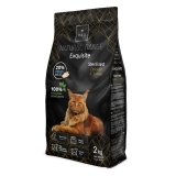 REX NATURAL Range Exquitie Sterilidsed cat Chicken § Turkey 2 KG