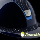 Samshield Miss Shield ShadowGlossy Sparkling Chrome Bleu Kobak